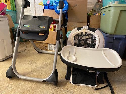 graco duo glider high chair