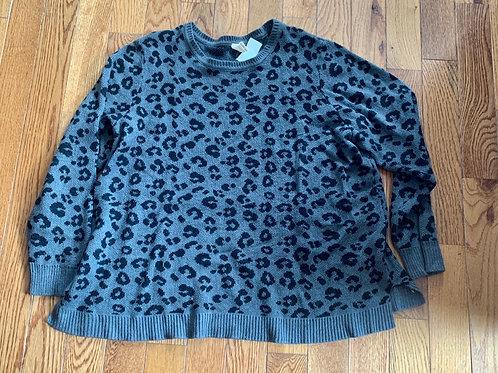 FG blk gray sweater