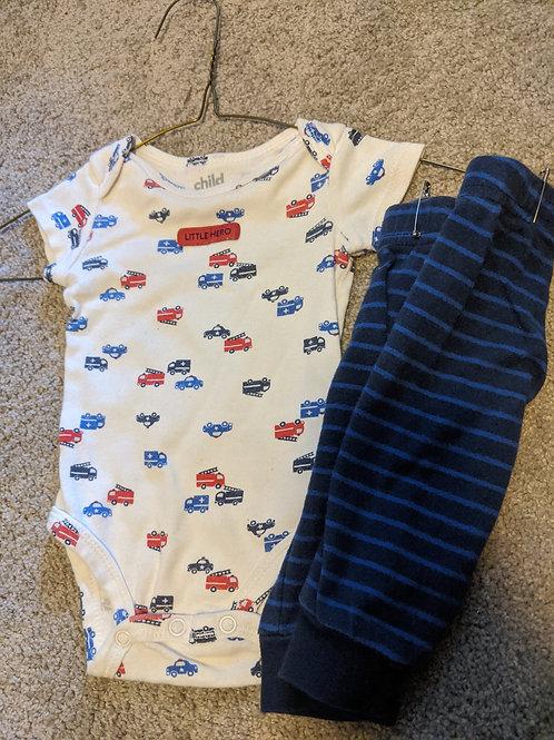 Child of Mine Little Hero SS wi/ pants