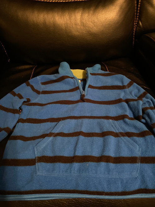 Old navy fleece Blue  black  stripes