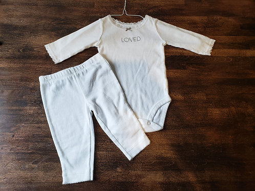 Carter's Loved Onesie w/ Pant