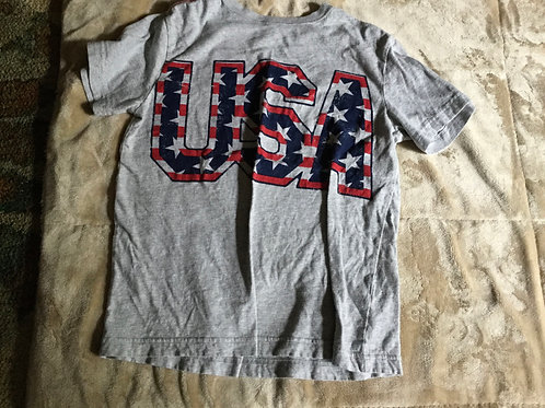 Crazy 8 Gray Tee USA
