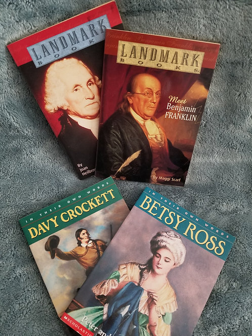 Landmark & In Words Set of 4