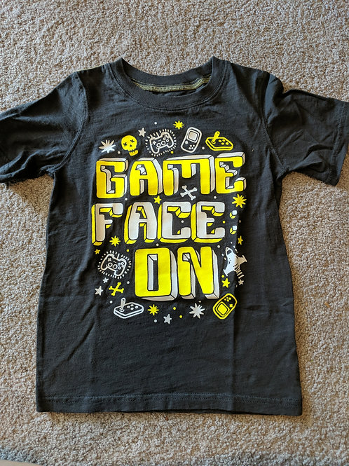 Carter's Kids Game face slate grey SS