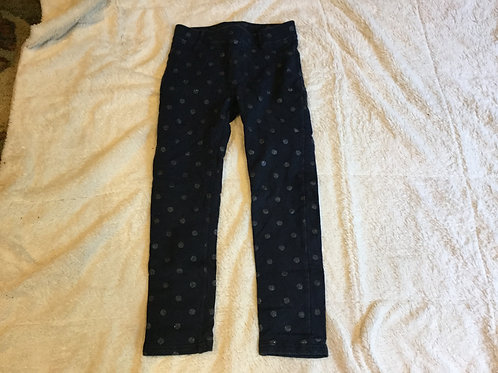 H&M Blue Pants with Sparkly Dots