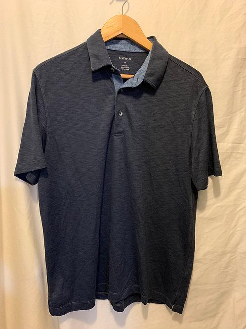 VanHeusen Men's polo, blue, medium