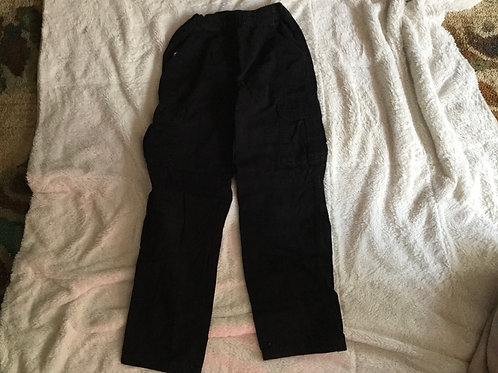 Childrens Place Black Cargo Pants