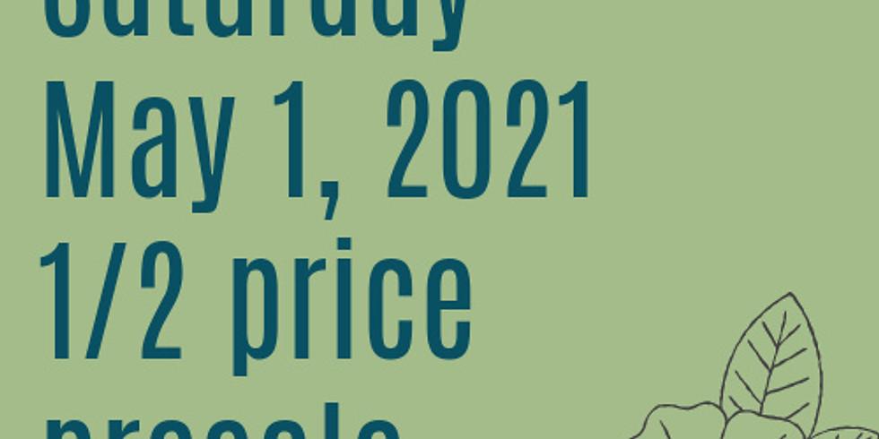 Spring 2021 1/2 Price Presale - Saturday
