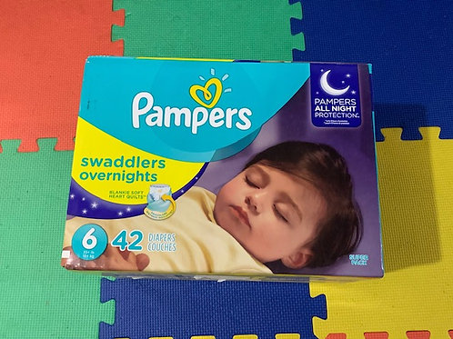 Pampers Overnight 42 diapers