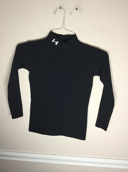 Under Armour yLG Black cold gear shirt