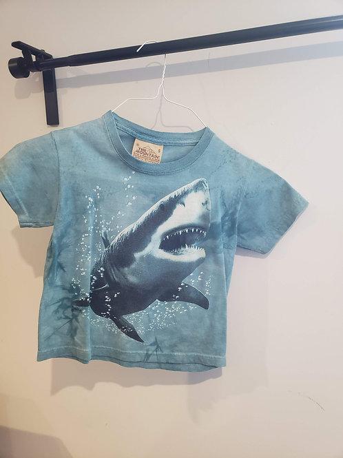 The Mountain Blue Shark t-shirt
