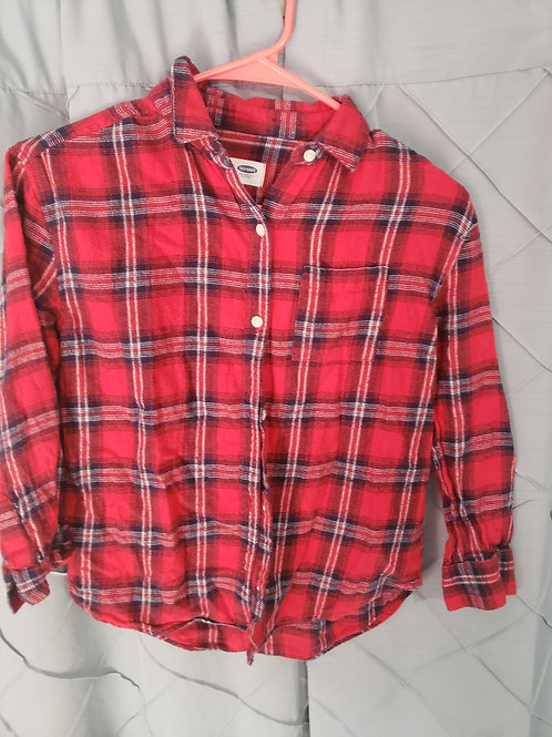 Old navy red flannel