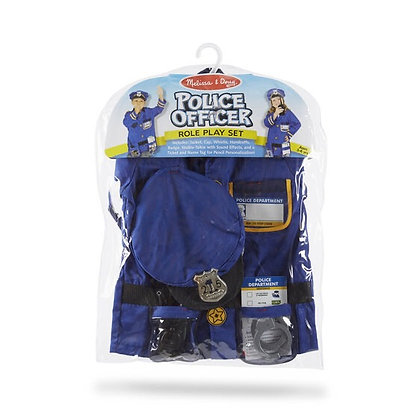 Melissa & Doug Police Officer Role-Play Costume