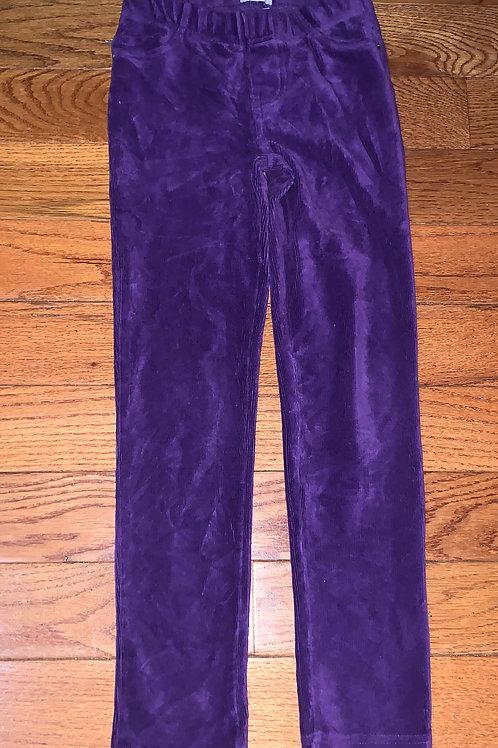 Children place Purple stretch pants