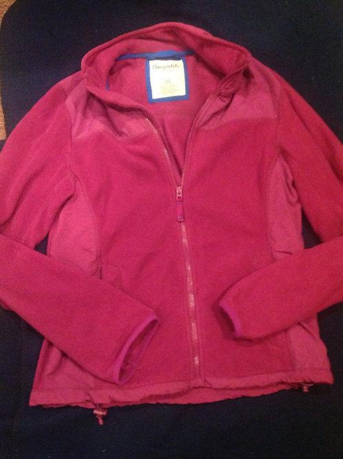 Aeropostale large pink fleece jacket