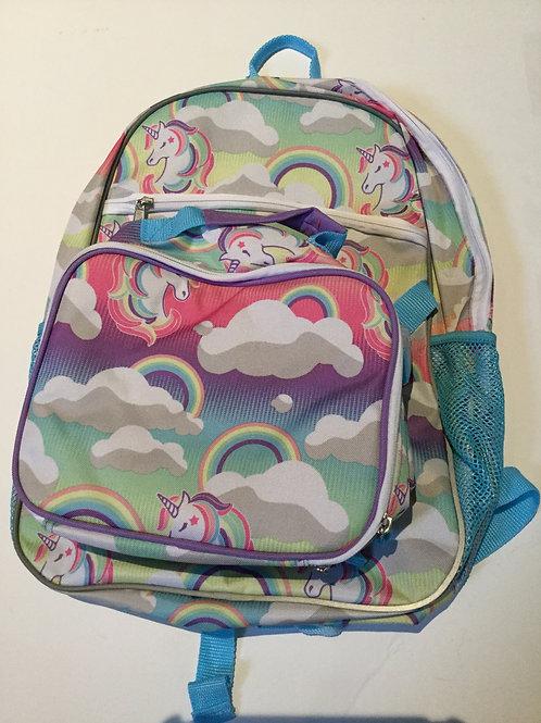 New unicorn set Backpack and lunchbox