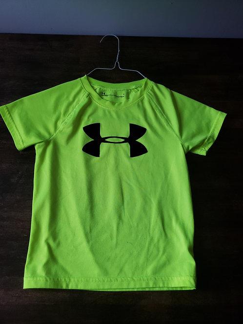 Under Armor Neon Yellow Shirt