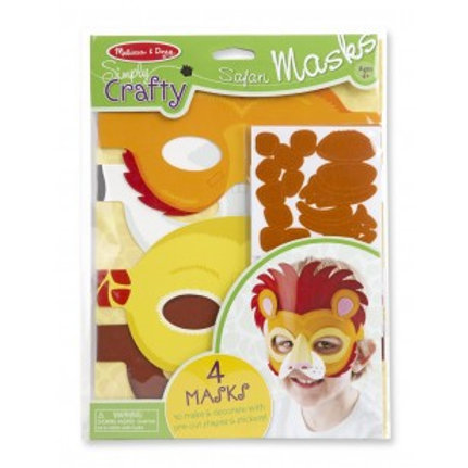 Melissa and Doug Simply Crafty Safari Masks