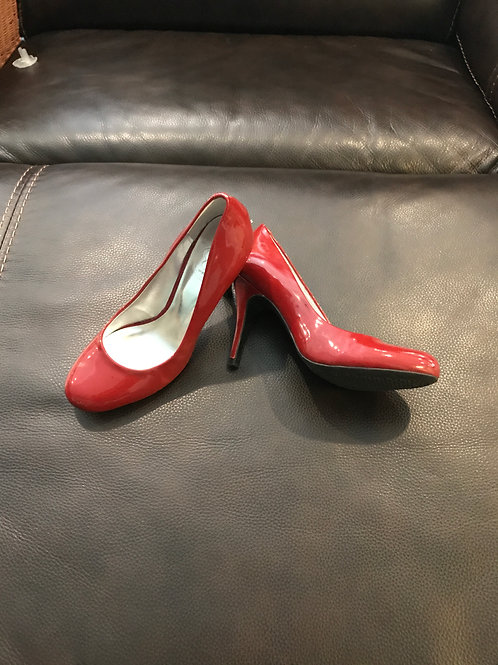 Jessica Simpson patent Leather red heels
