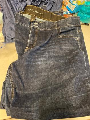 Size 22 lane bryan jeans
