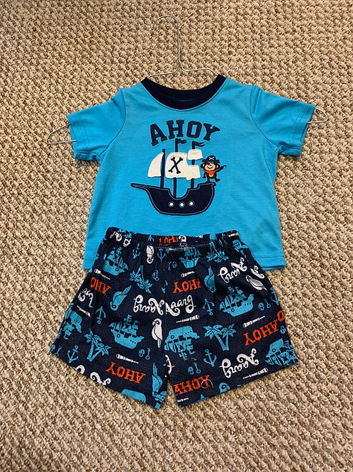Carters Boys 2pc pjs pirate ahoy