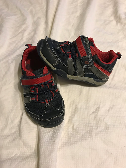 Stride rite 7 toddler Shoes - blue/red