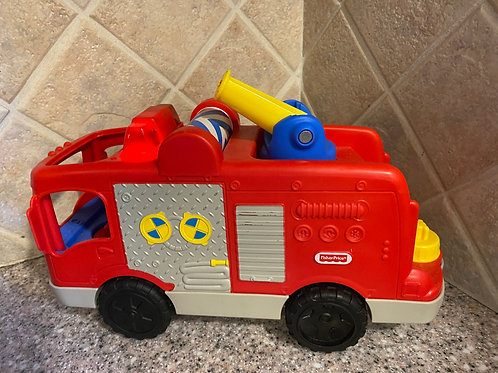 Fisher Price Fire Truck plastic