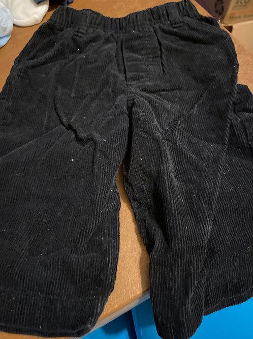 Mini wear  black Corduroy