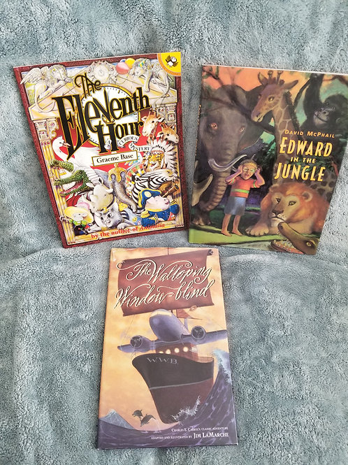 Picture Books Set of 3