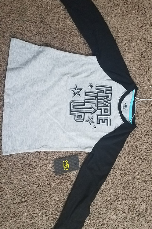 NEW Athletic Works ls hype it up gray