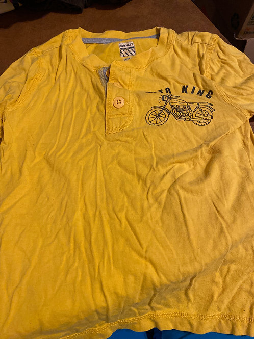 Old navy ls shirt Yellow moto kings