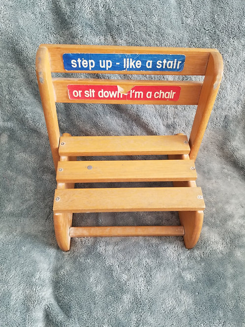 Chair or Steps Wooden