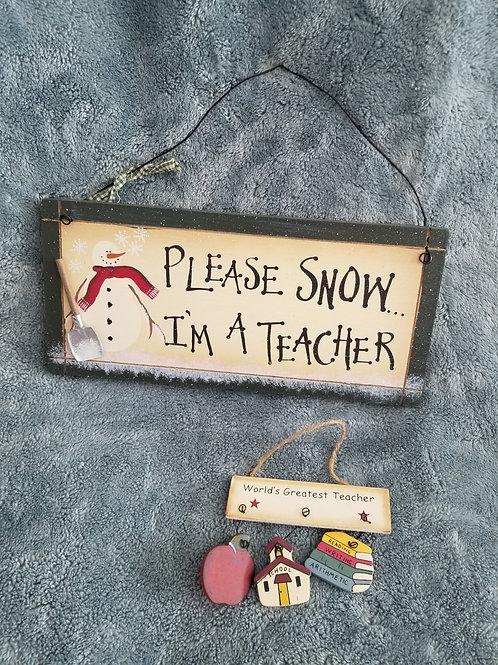 N/A Please Snow & Ornament