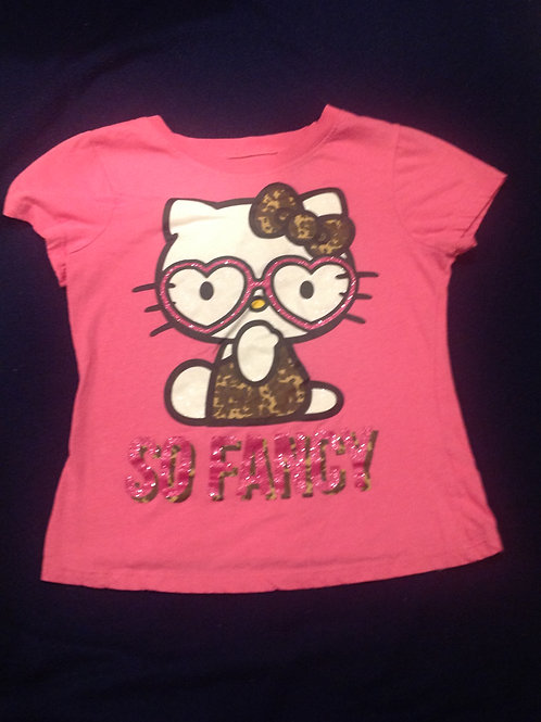 Hello Kitty pink shirt so fancy