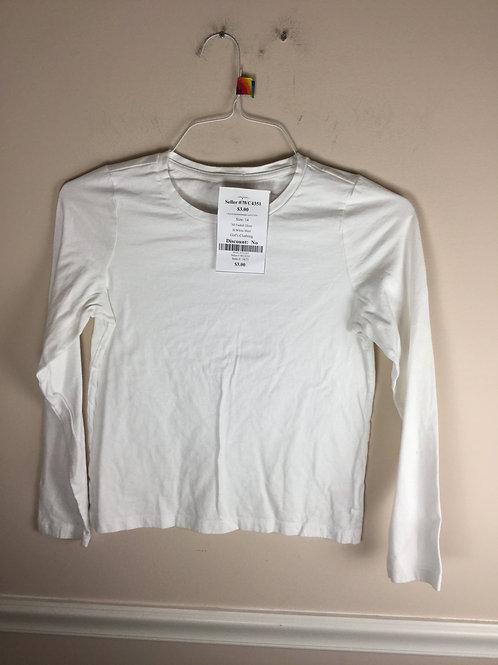 NI Faded Glory B White Shirt