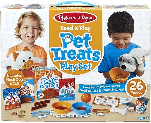 Melissa and Doug Feed & Play Pet Treats Play Set
