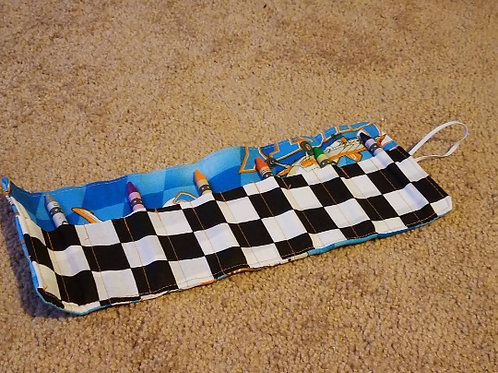 planes crayon roll up