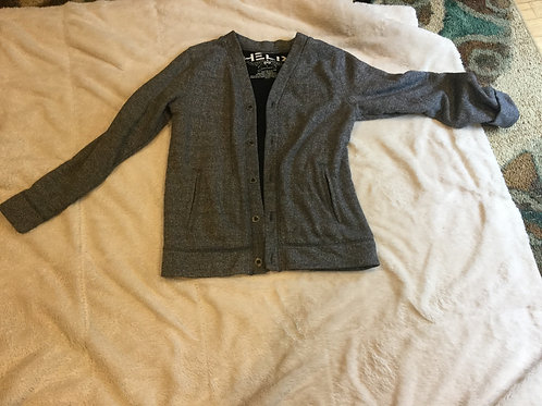 Helix Gray Button Up