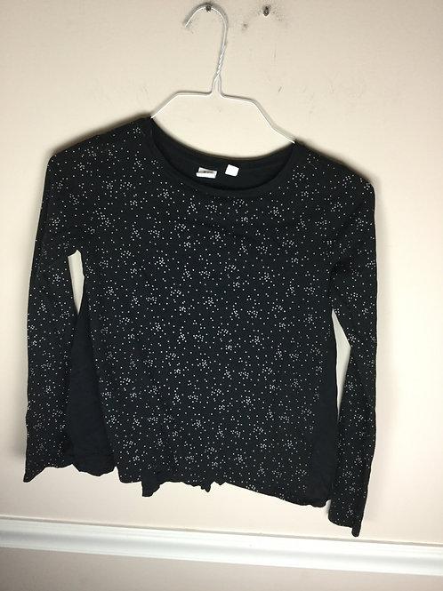 Gap black tiny Stars shirt