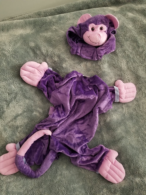 Purple Monkey Costume Size Large
