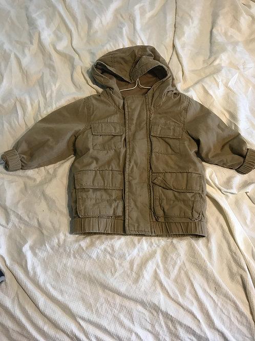 ON brown jacket Lined inside
