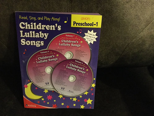 New Childrens Lullaby Songs with 3 CDs