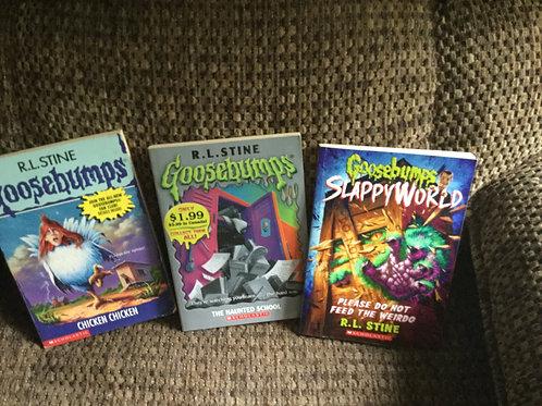 3 Goosebumps Books