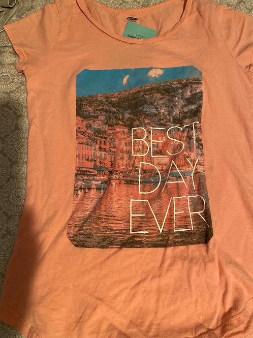 Old navy pink ss shirt