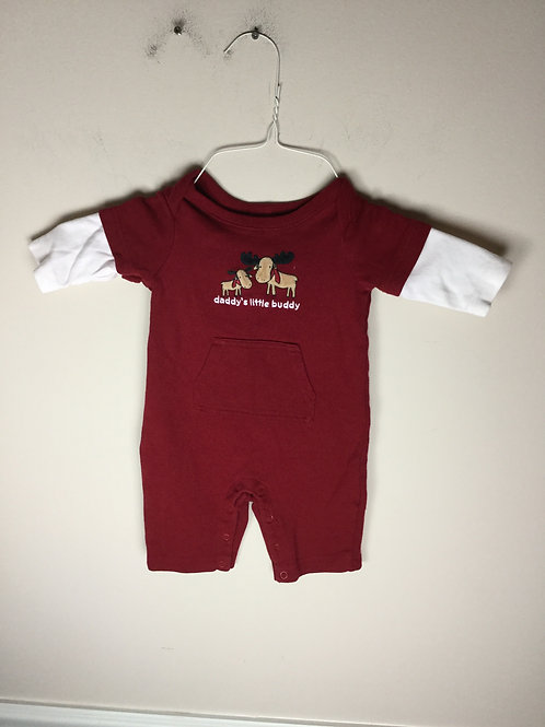 Gymboree one piece Daddys little buddy