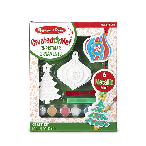 Melissa and Doug Decorate-Your-Own Christmas Ornaments