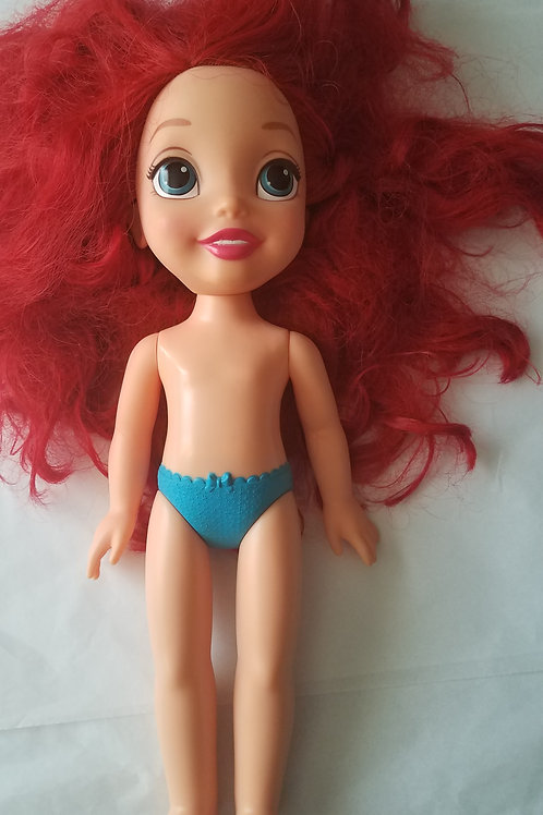 """ariel 14"""" doll"""