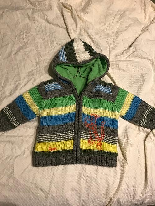 Disney tig hooded sweater Yellow/green/grey/blue