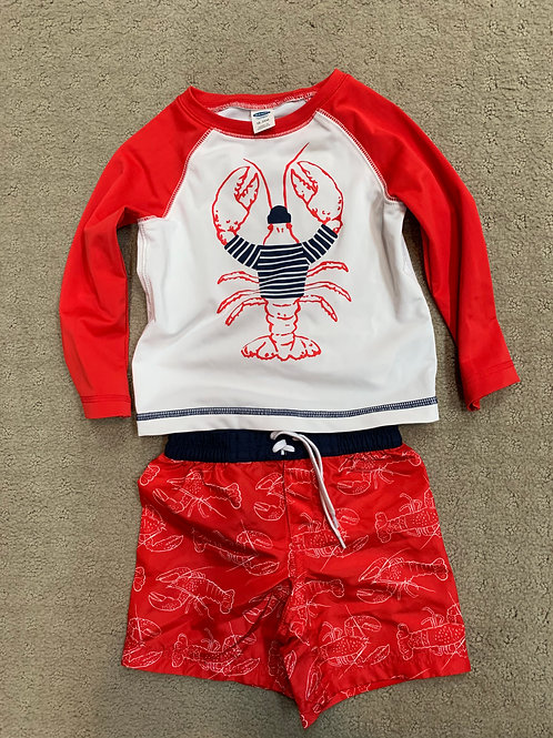 Old Navy Lobster swimsuit