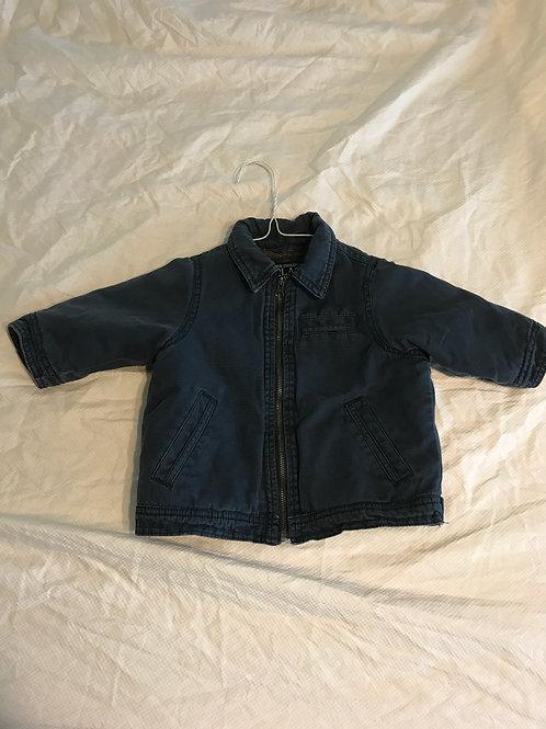 TCP 6-9m blue jacket Fleece lined